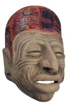 ancient mayan mask