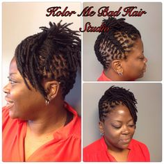 Locs  Up Do