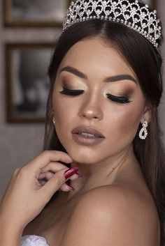 An online space for you to learn all about Fashion & Beauty Glam Makeup, Bridal Makeup, Beauty Makeup, Beautiful Eye Makeup, Beautiful Eyes, Makup Looks, Paradise Girl, Mack Up, Eyebrow Makeup