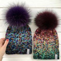 Knit Beanie Hat, Crochet Beanie, Crochet Yarn, Beanies, Loom Knitting, Baby Knitting, Knitting Patterns, Knit Mittens, Knitted Hats