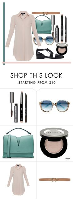 """Untitled #260"" by romi-kella on Polyvore featuring Bobbi Brown Cosmetics, Cutler and Gross, Jil Sander, Shany, Xander and Max Studio"