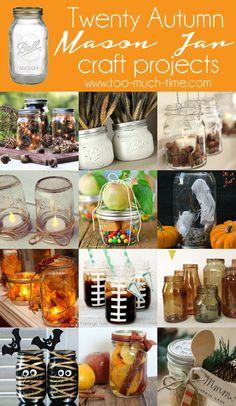 20 Fall Jar Craft Projects