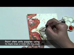▶ Magical Mail Art - Matching Poppy Card & Envelope with Lindy's Stamp Gang - YouTube   https://www.youtube.com/watch?v=h_vRZjuUMJI&feature=em-subs_digest