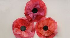 Day Craft: Coffee Filter Poppies Coffee Filter Poppies - Happy Hooligans for CBC Parents. Wouldn't a whole wall full of these look cool?Coffee Filter Poppies - Happy Hooligans for CBC Parents. Wouldn't a whole wall full of these look cool? Remembrance Day Activities, Remembrance Day Poppy, Kids Crafts, Arts And Crafts, Paper Crafts, Coffee Filter Crafts, Coffee Crafts, Coffee Filter Art, Poppy Craft For Kids
