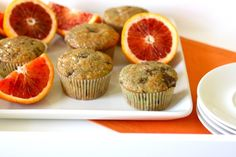 blood orange chocolate chunk muffins by annieseats, via Flickr