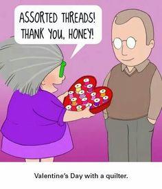 #sewing humor #valentine