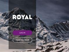 Login Page Design by Suman