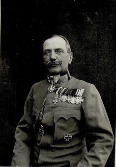 Feldmarschallleutnant Ernst Kletter Edler von Gromnik, Kommandeur des 9. Korps von Oktober 1916 bis August 1917