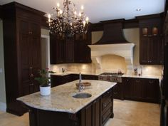 Chocolate Brown Traditions by Robert Design Group Ltd.