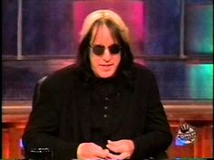 December 1998 - Todd Rundgren Visits Comedy Central's 'Daily Show'