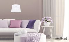15 stylish ways to include spring pastels in your home decor Vinyl Wall Decals, Decor, Pastel Home Decor, Pastel Decor, Paint And Drink, Pastel House, Home, Interior, Home Decor