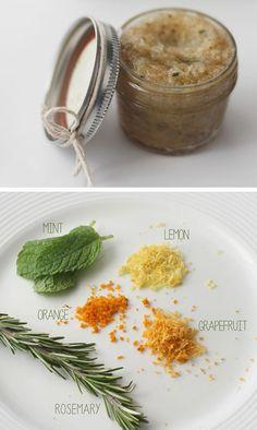 Homemade Citrus Lip Scrub   DIY Christmas Gifts in a Jar Ideas   DIY Last Minute Christmas Gifts