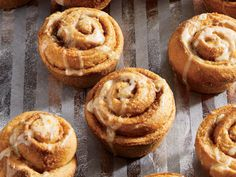 Classic cinnamon rolls get a zingy update with this citrus-glazed twist.
