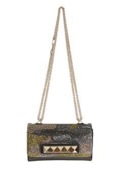 #Valentino #Handbag :: #Valentino #camo-print #strass-embellished #Vavavoom #handbag   Montaigne Market
