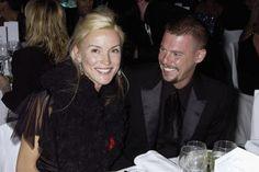 Designer Alexander McQueen, der sich 2010 das Leben nahm, war eng mit Daphne Guinness befreundet. Hier sind die beiden 2004 bei einem Dinner zu sehen