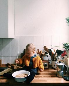 If you're into food your kid will have a difficult life. Work work work in the kitchen all the time.  by whatforbreakfast