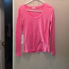 Pink top Pink long sleeve blouse light material size large Tops Tees - Long Sleeve