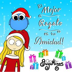 Gracias El mejor regalo es tu amistad ;) Your friendship is the best gift! http://guyuminos.blogspot.mx/2015/12/el-mejor-regalo-es-tu-amistad.html