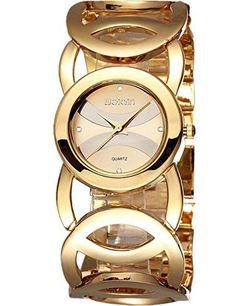 b56985868177f Price tracker and history of Original WEIQIN Brand Luxury Crystal Gold  Shock Watches Women Fashion Bracelet Quartz Watch Waterproof Relogio  Feminino reloj