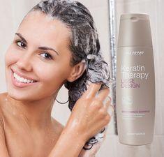 Mai sunt doar câteva zile în care te poți bucura de un preț special la toate șampoanele marca Alfaparf Milano.  Descoperă șamponul potrivit pentru tipul tău de păr.  [Șampoanele sunt fără sulfați, parabeni sau săruri] Keratin, Mai, Hair Care, Shampoo, Therapy, Lipstick, Type, Beauty, Smooth