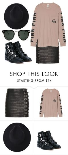 """Untitled #956"" by amanda-lanerva ❤ liked on Polyvore featuring Gucci, Victoria's Secret, Givenchy and Spitfire"