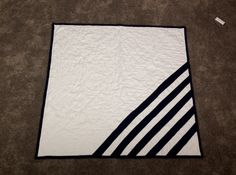 Modern Lines Baby Quilt Baby Boy Baby Girl MADE TO by boltandbias, $115.00