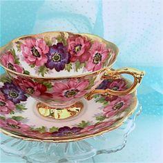 Vintage Royal Standard Tea Cup Cup and Saucer by VintageTeacupShop