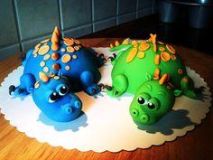 Dinosaur Cakes Dinosaur Birthday Cakes, 3rd Birthday Cakes, 9th Birthday Parties, Dinosaur Cake, Dinosaur Party, Skinny Cookies, Dino Cake, Cake Templates, Dragon Cakes