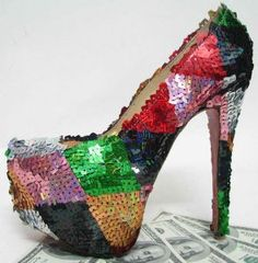 Christian Louboutin Daffodile 160 paillette Multicolorful platfo [17P] - $130.00 : Designershoes-shopping, World collection of Top Designer high heel UP TO 90% OFF!