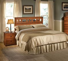 Sometimes all you need to make your bedroom look a little more mature is the right headboard.