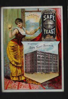 Trade Cards Advert Safe Yeast Rochester NY