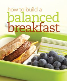 Breakfast for People with Diabetes - 15 breakfast ideas (a lot of store bought stuff, but could easily substitute with a home-made version)