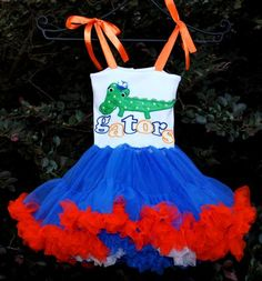Love this for Gators games and would love to get a NCCS one made one day when Big Bro plays football :-)