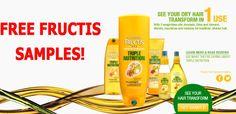 FREE Sample of Garnier Fructis Triple Nutrition Free Samples, Nutrition, Learning, Studying, Teaching, Onderwijs