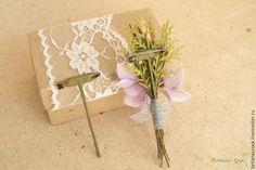 Основа для бутоньерки своими руками - Ярмарка Мастеров - ручная работа, handmade