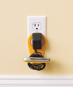 Nifty. I could use this on the kitchen island where we are always charging our phones and Ipods