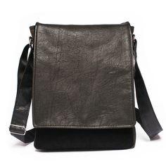 Men's leather satchel, leather man bag, messenger bag, messenger purse, leather bag, leather purse, ipad messenger bag by BrandiaManufacture #men #fashion #bah #leather #handmade #esty #minimalist #messenger #ipad