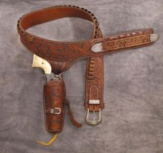 Bohlin Gun Rig with Colt Single Action - Brian Lebel's Old West Auction