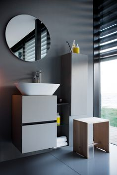 modern, contemporary bathroom