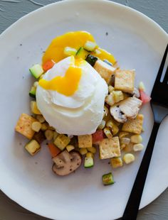 Tofu Scramble Egg Drip
