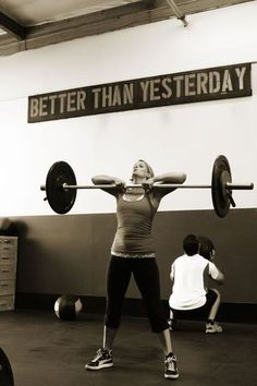 crossfit better than yesterday
