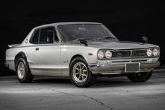 The modern-day Nissan GT-R is certainly impressive, but if you want to know its heritage, you need to start here. This 1972 Nissan Skyline GT-R is one of just over GT-R coupes made between and powered by. Nissan Gt R, Nissan Skyline Gt R, Japanese Sports Cars, Japanese Cars, Rolls Royce, Bugatti, Mazda, Volvo, Volkswagen
