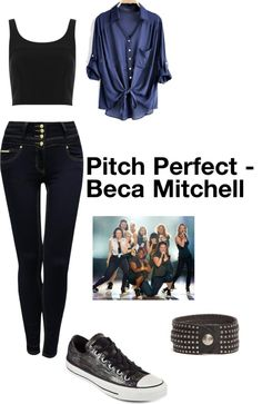 """Beca Mitchell - Pitch Perfect"" by london2paris on Polyvore I Just want the pants."