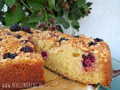 Apfel-Brombeer-Kuchen LECKER Bakery   Foodblog rehlein backt