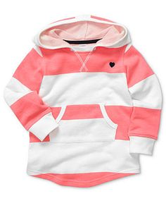 Carter's Kids Sweatshirt, Little Girls Long-Sleeved Hoodie - Kids Girls 2-6X - Macy's