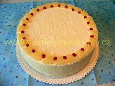 Ananasový dort s kokosem