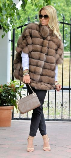 sable furs - exclusive russian sable fur coat -  fantastic jacket