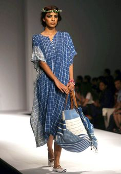 WIFW, Aneeth Arora . Love the colours, love the print and all ! Summer Bliss!