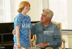 Talk Show host Jay Leno makes an appearance at Barnes & Noble to promote his new childrens book 'If Roast Beef Could Fly' March 26, 2004 in New York City.