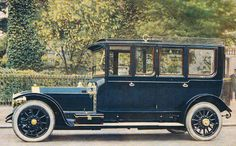 1911 re-bodied Limousine by Thrupp & Maberly (chassis 1787) for Mrs van Raalte
